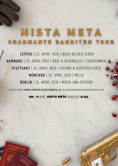 Mista Meta | Boldt Berlin Konzertagentur