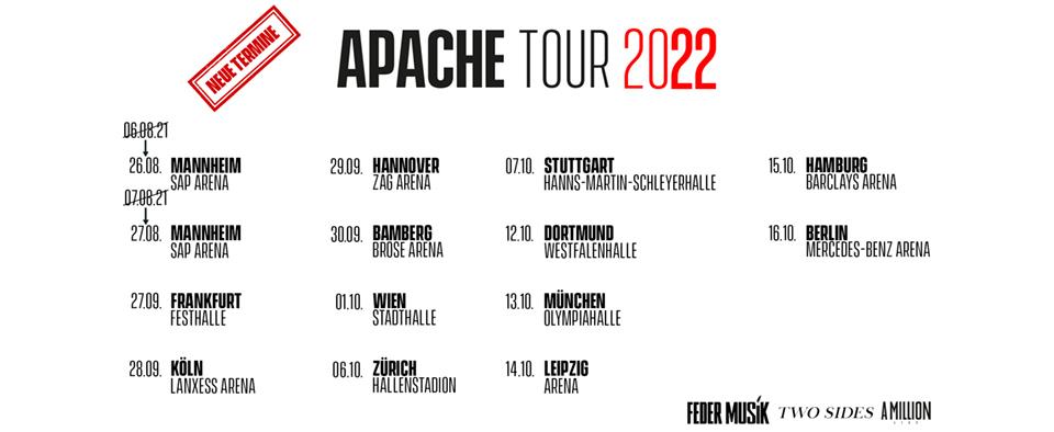 Apache 207 Boldt Berlin Konzertagentur GmbH